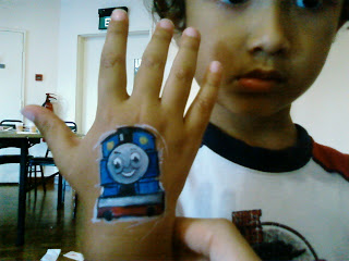 Hand Painting for Kids!