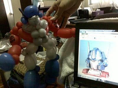 Transformers watching transformer