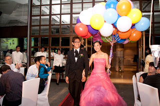 Balloons at Weddings IV