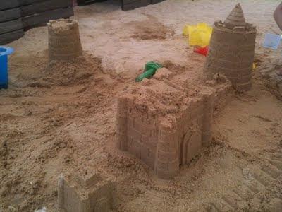 Sand activities!