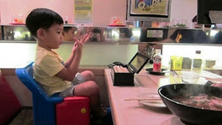 Kids friendly restaurant – Sakae Sushi