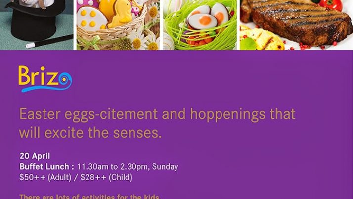 Win dining voucher for 2 at Park Hotel Clarke Quay and 5 reasons why you should reserve your tables now for their Easter Brunch!