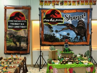 Dinosaur Theme Party