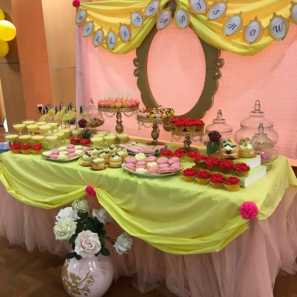 Beauty And The Beast Candy Buffet