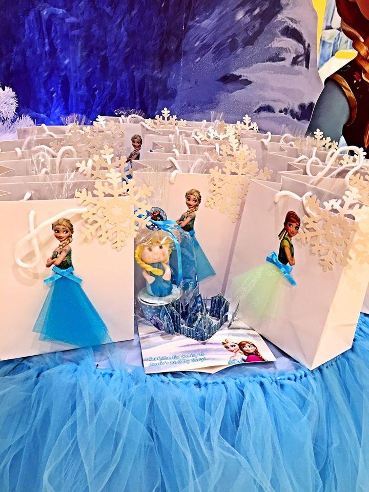 Elsa goodie bags