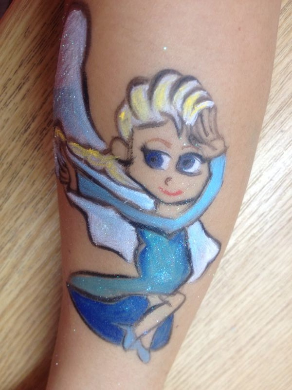 Elsa handpainting