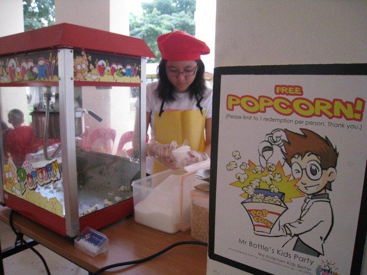 popcorn live station in singapore