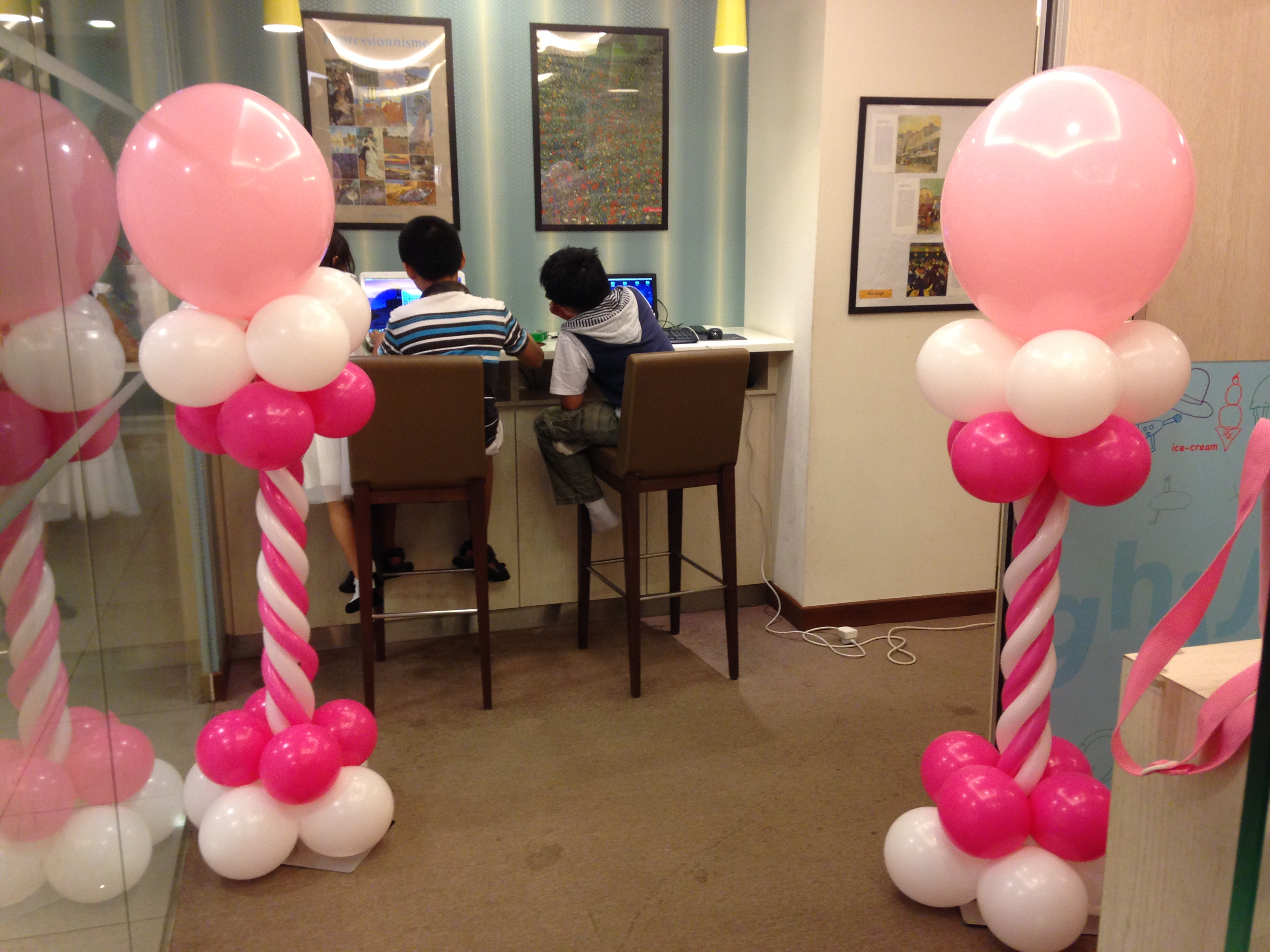 Classic Balloon Columns - Choose your own colours!
