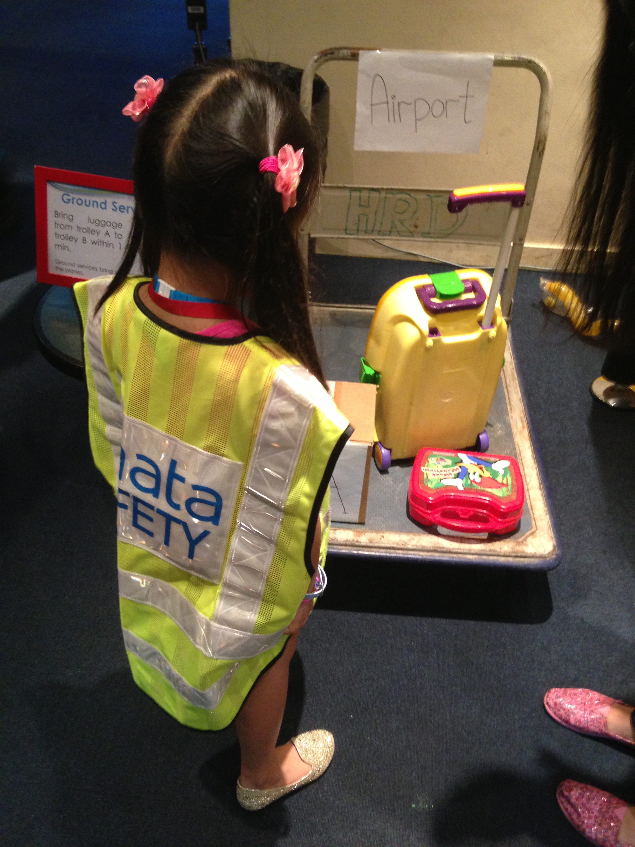 Kids@work Baggage handling