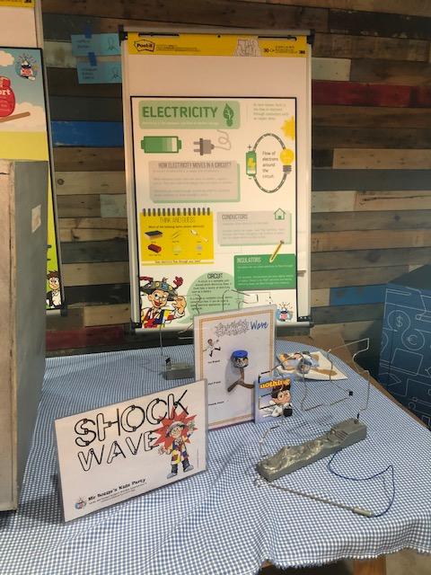 Science Carnival Games: Shockwave