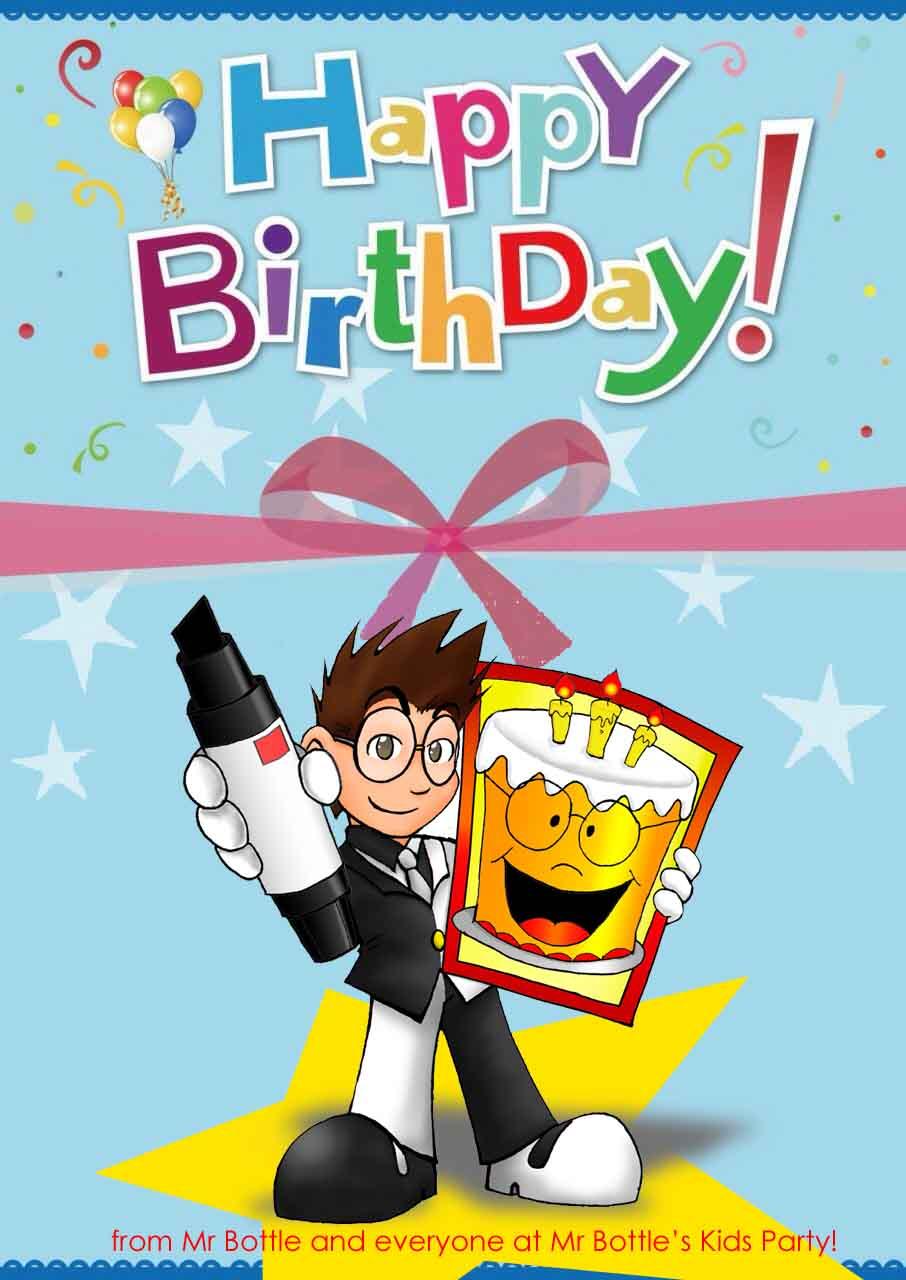 BIRTHDAY card download