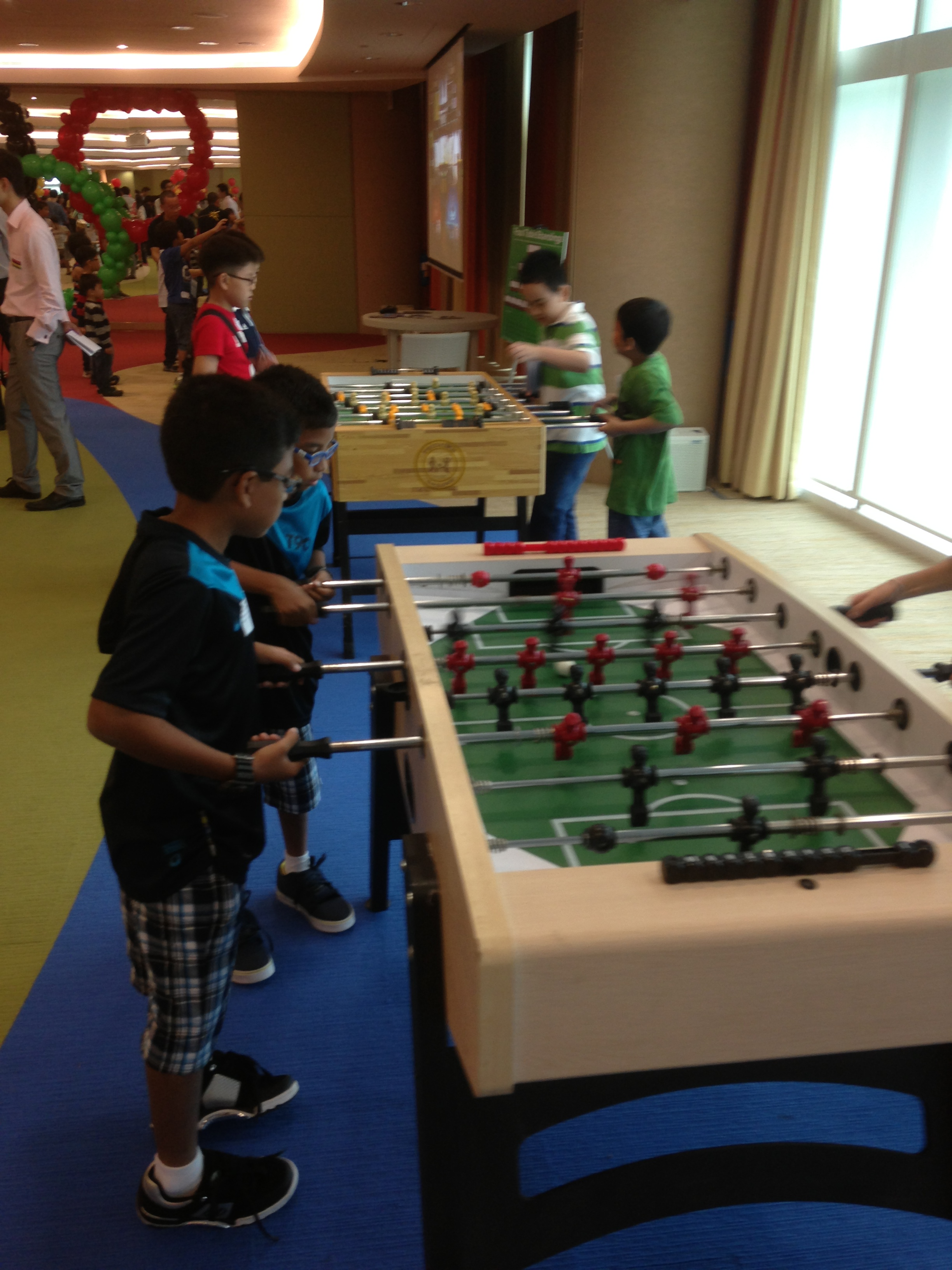 Foos Ball Tables Competition