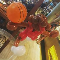 Michael Jordan basketball Balloon Sculpture