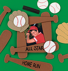 Sports theme photo frame