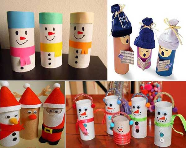 Christmas pen holders