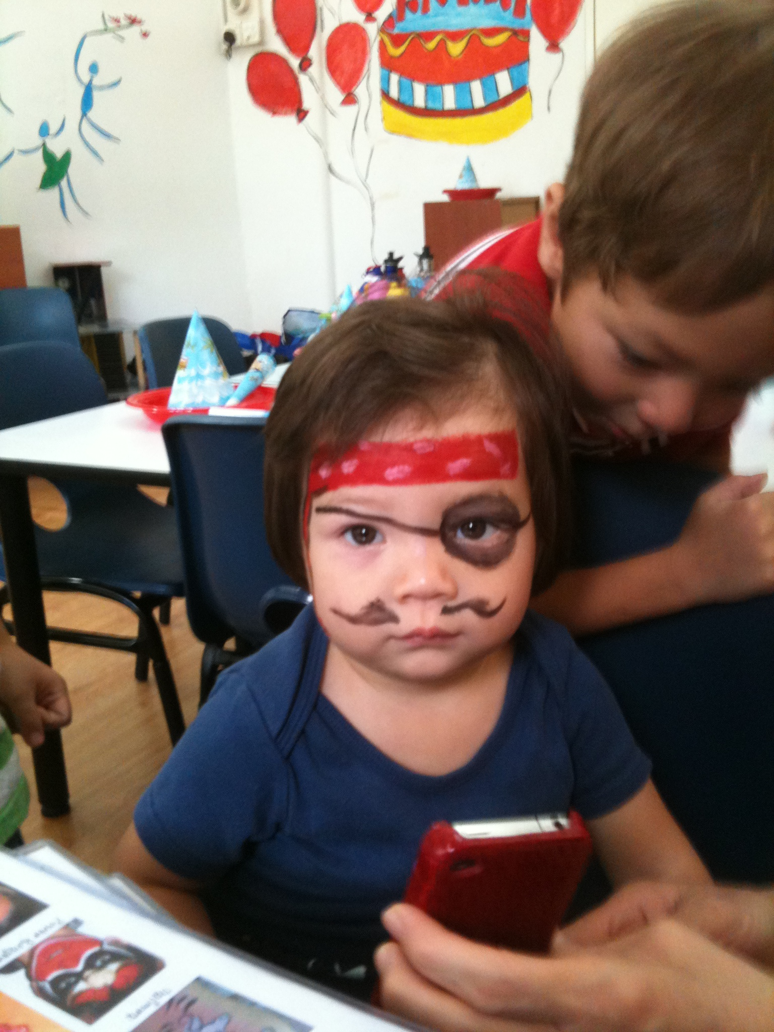 Pirate facepainting