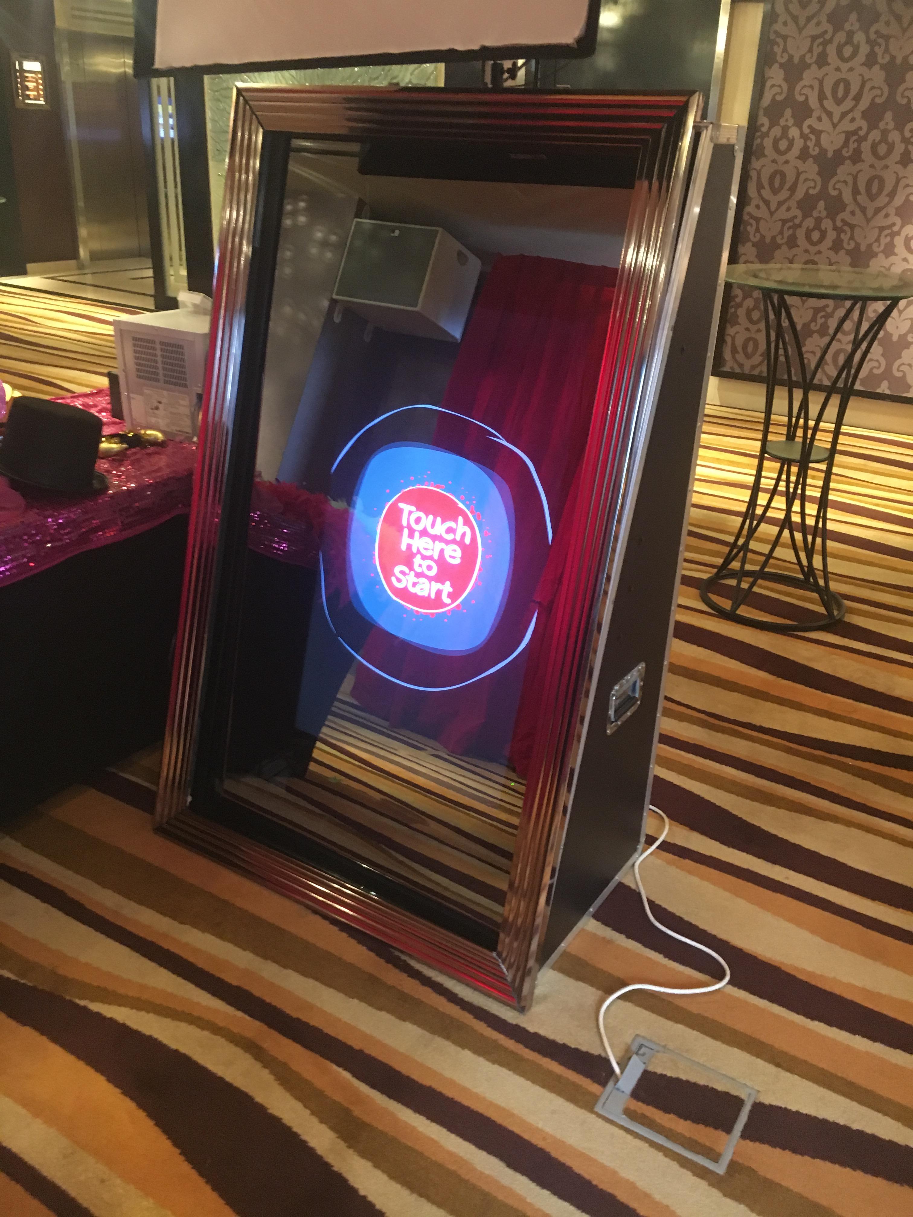 Magic Mirror Photo Booth Singapore