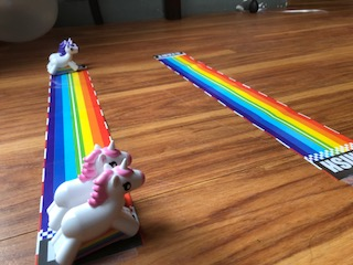 unicorn racing games