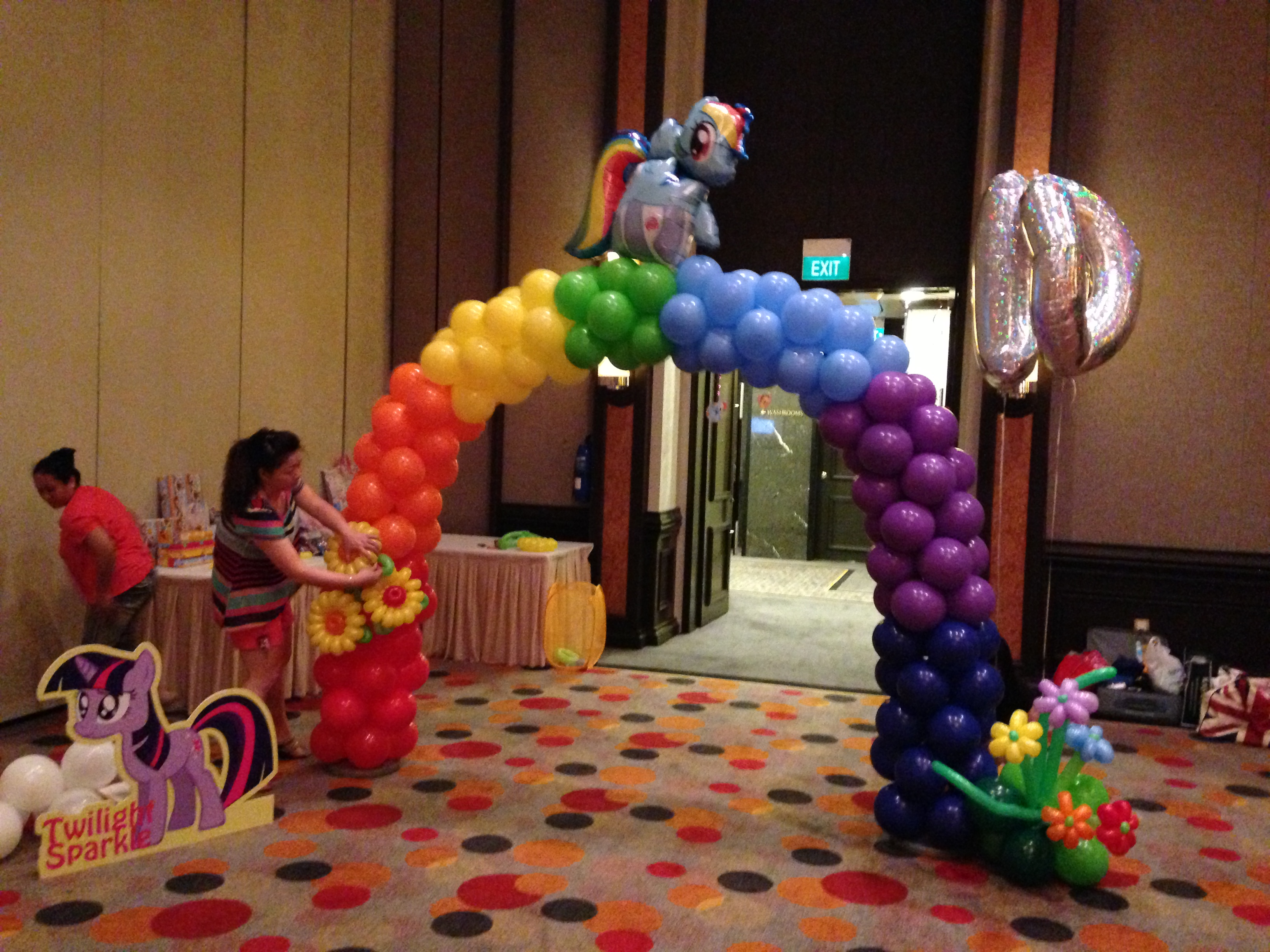 My little pony arch