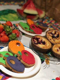 Food ideas for The hungry caterpillar
