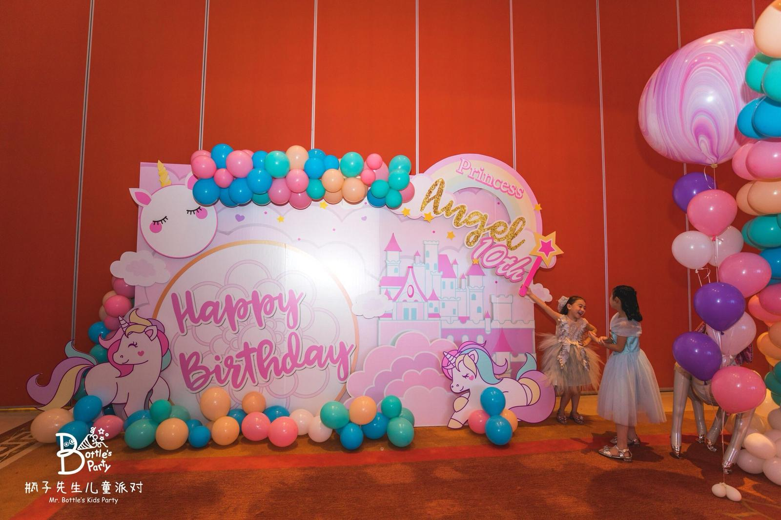 Case Study: Unicorn Birthday Party