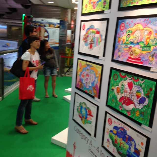 Colouring NDP competition