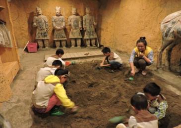 terracotta digging
