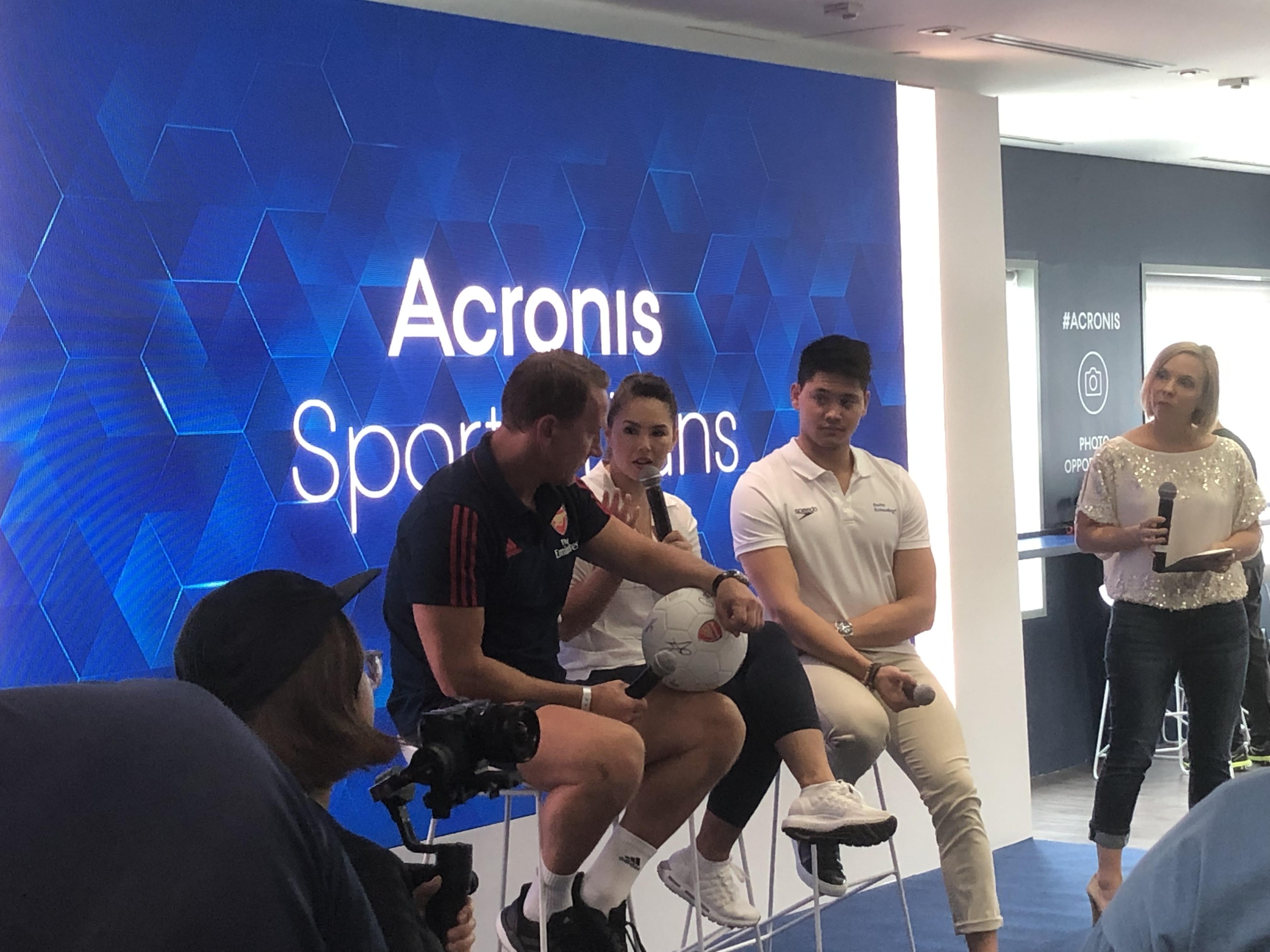 Acronis sports titan event