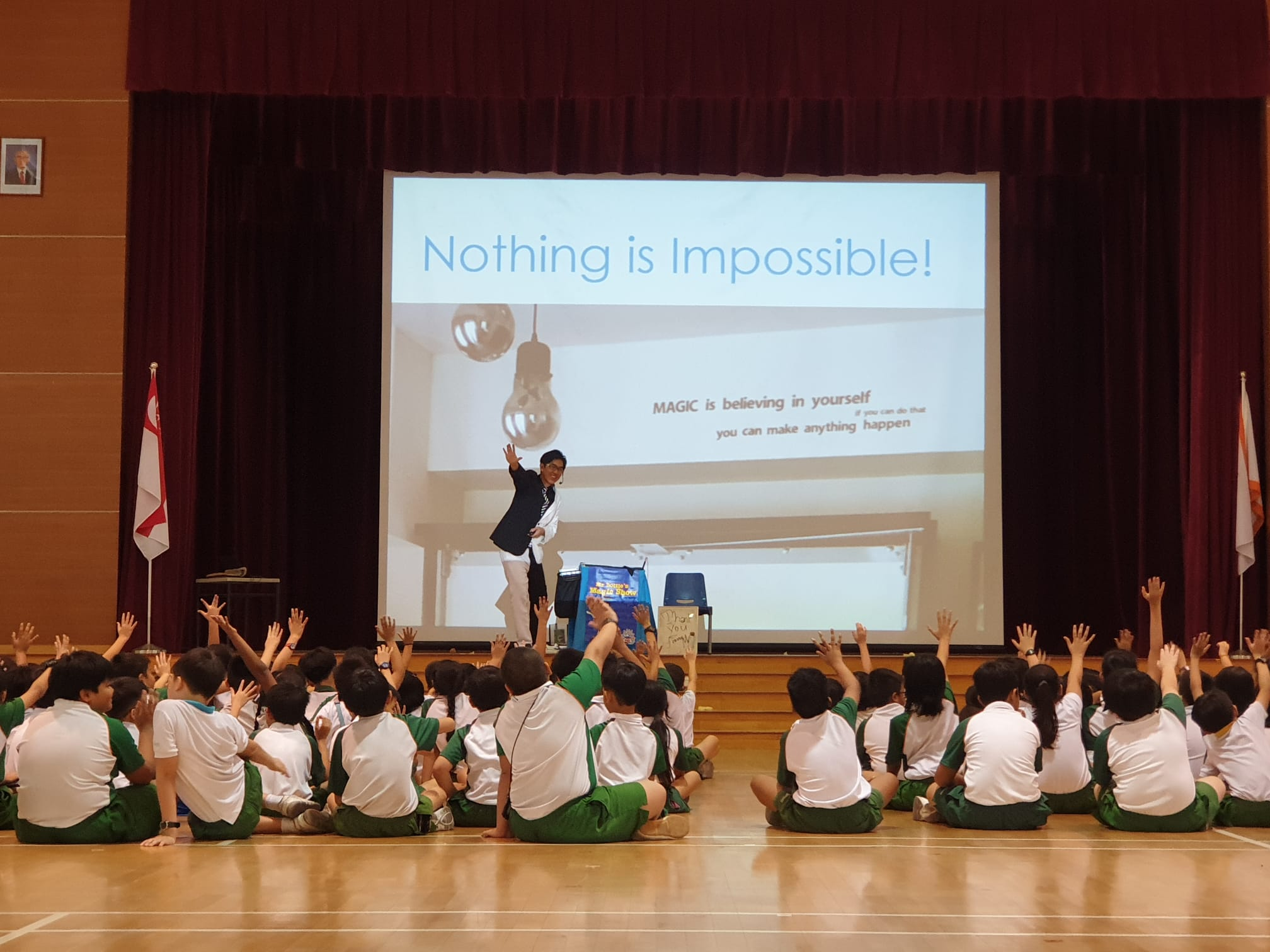 Nothing is impossible tedtalk to inspire children