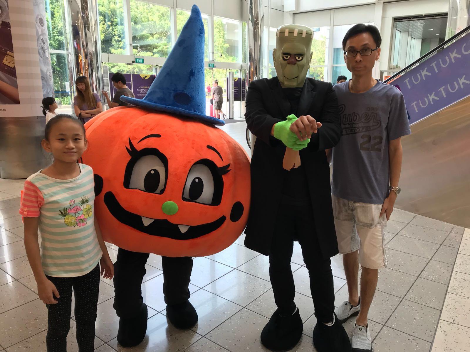 Halloween Mascots