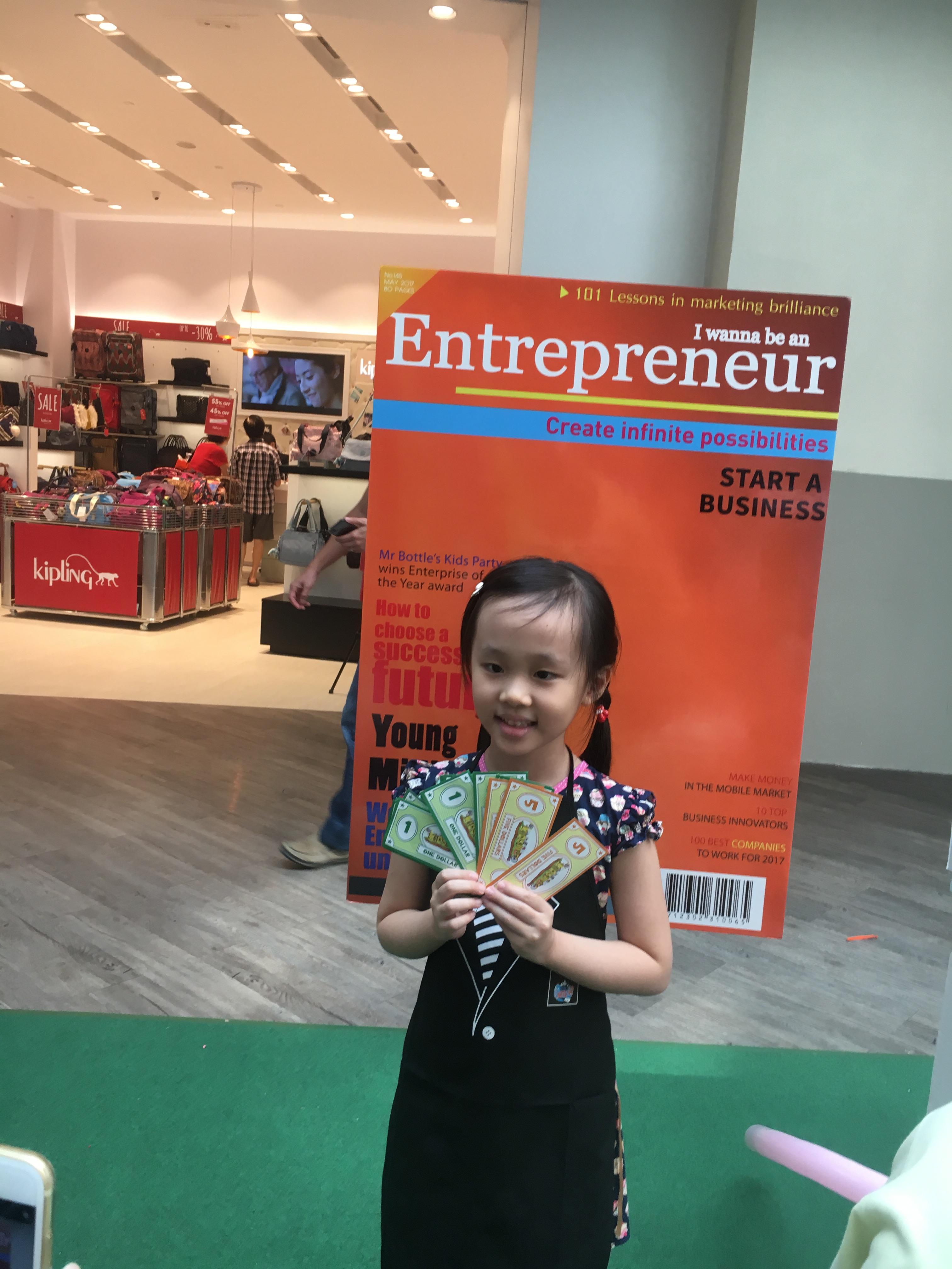 Case Study: Enterpreneurship Event for Kids@Work